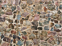 Real stone wall Royalty Free Stock Photography