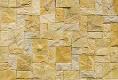 Real stone wall surface Royalty Free Stock Images