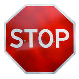 Real STOP sign Royalty Free Stock Photography
