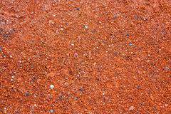 Real Texture Of Small Red Stones As Background Royalty Free Stock Photo