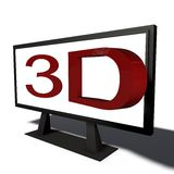 Real time 3d object Royalty Free Stock Photography