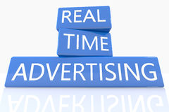 Real Time Advertising Stock Images