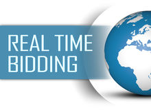 Real Time Bidding Royalty Free Stock Images