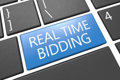 Real Time Bidding Stock Images