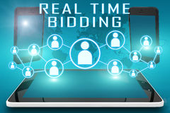 Real Time Bidding stock photography