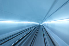 Real tunnel with high speed Royalty Free Stock Photography