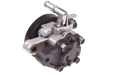 Real used car water pump Stock Photo