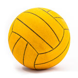Real and used water polo ball Stock Image