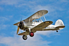 A real veteran - Gloster Gladiator Royalty Free Stock Photography