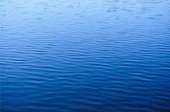 Real water surface Stock Images