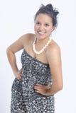 Real young hispanic latin Royalty Free Stock Photo
