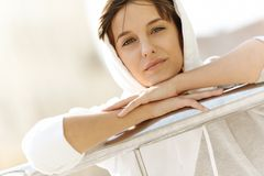 Real young woman Royalty Free Stock Photos