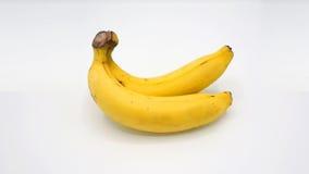Reala dwa banan Zdjęcia Stock