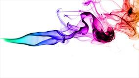 Reala kadzidło swobodny ruch colorized zdjęcie wideo