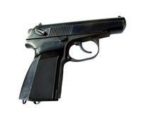 Reale della pistola isolato Fotografia Stock Libera da Diritti