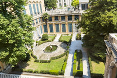 Reale di palazzo di Museo a Genova, Italia fotografia stock libera da diritti