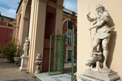 reale palazzo genoa стоковое изображение rf