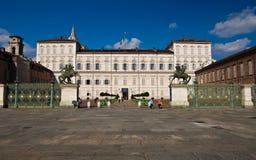 reale torino palazzo стоковая фотография
