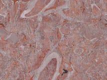 Reale Weltroter rosafarbener und grauer Marmor Stockfotografie