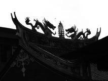 Realer chinesischer Drache stockbild