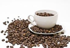 Realer Kaffee Stockfoto