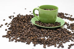 Realer Kaffee Stockfotos