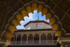 Reales Alcazares в Севилье, Испании стоковые изображения
