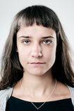Reales normales Personenportrait Lizenzfreies Stockbild