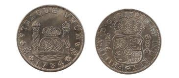 1734 8 Reales Stock Photos