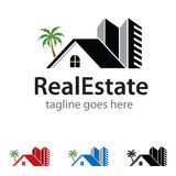 Realestate Logo Template Design Vector Royalty Free Stock Images