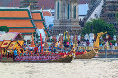 Reali tailandesi barge dentro Bangkok Immagine Stock Libera da Diritti