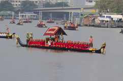 Reali tailandesi barge dentro Bangkok Fotografie Stock Libere da Diritti