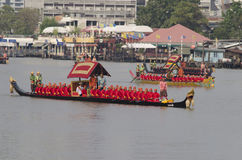 Reali tailandesi barge dentro Bangkok Immagini Stock