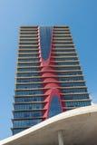Realia torn, Barcelona Royaltyfri Foto