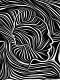 Realidad de líneas internas ilustración del vector