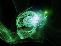 Realidad de la mente ilustración del vector