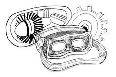 Realidad virtual para fabricar Foto de archivo