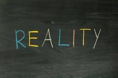 Realidade Imagens de Stock