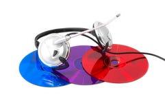 Realidade digital brilhante e colorida fotografia de stock