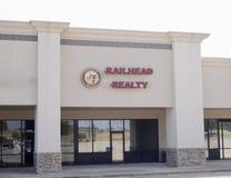 Realidade do terminal ferroviário, Fort Worth, Texas fotos de stock
