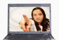 Realidade virtual Imagens de Stock Royalty Free