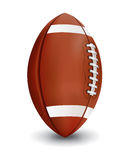Realistic American Football Isolated on White Background Illustr Royalty Free Stock Image