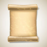 Realistic ancient scrolls Royalty Free Stock Image