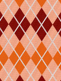 Realistic argyle cloth Stock Photo