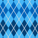 Realistic argyle fabric Royalty Free Stock Photography