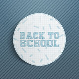 Realistic Back to School Banner Stock Photos