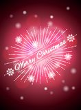 Realistic background with bright highlights, Christmas Background, Christmas background. Vector illustration.  Stock Photography