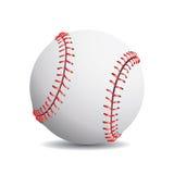 Realistic baseball Stock Image