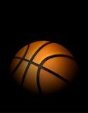 Realistic Basketball Illustration with Black Background Royalty Free Stock Image