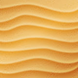 Realistic beach sand background Royalty Free Stock Photos